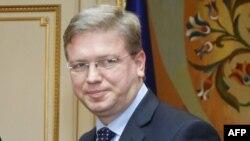 Еврокомесарот Штефан Филе