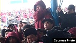Thousands of OzenMunaiGaz workers on strike in Zhanaozen