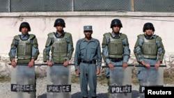 Сотрудники спецподразделения полиции Афганистана. Иллюстративное фото.