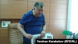 Профессор Нұрлан Дулатбеков. Қарағанды, 7 маусым 2015 жыл.