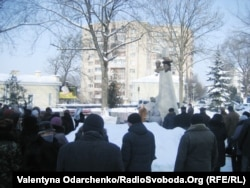 Мітинг пам'яті Клима Савура в Рівному