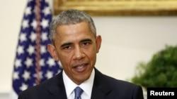 На снимке: Барак Обама