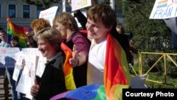 Russia was criticized for its treatment of gays.