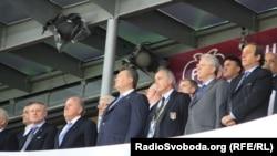 """В вип-зоне стадиона """"Олимпийский"""" в Киеве было немало европейских лидеров"""