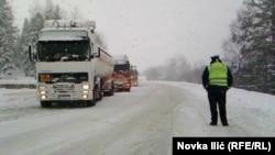 Sneg u užičkom regionu, foto: Novka Ilić