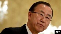 أمين عام الأمم المتحدة بان كي مون