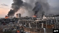 Взрыв в Бейруте 4 августа