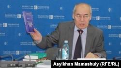 Хангельды Абжанов, директор Института истории и этнологии имени Шокана Уалиханова.