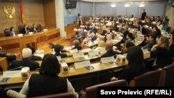Ženski parlament na Međunarodni dan žena, Skupština Crne Gore, 8.3.2013.