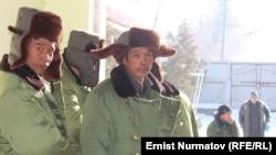 Қырғызстанда жүрген қытай жұмысшылары. Ош, 9 қаңтар 2013 жыл.