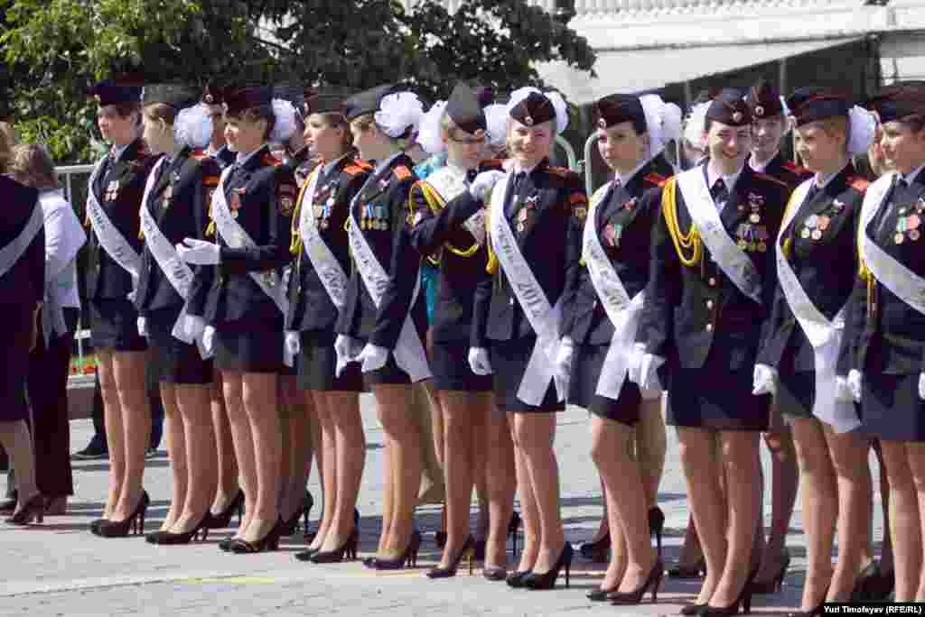 Выпускницы-кадеты