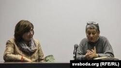 Сьвятлана Алексіевіч і Людміла Ўліцкая