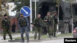 Илустрација: Руски сили во Чеченија.