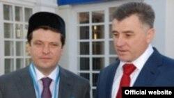 Казан һәм Әстерхан шәһәр башлыклары Илсур Метшин белән Сергей Боженов