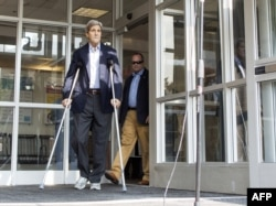 По официальной версии, задержка публикации доклада связана с травмой Джона Керии. По неофициальной - с нежеланием США навредить важным переговорам с Кубой, Китаем и Ираном