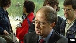 برنار والرو، سخنگوی وزارت خارجه فرانسه (عکس تزئینی است)