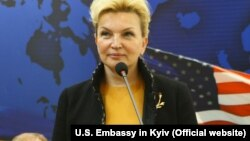 Ukraine's former Health Minister Rayisa Bohatyrova