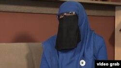 Боснийская мусульманка в никабе.