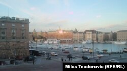 Центральная часть Стокгольма. Иллюстративное фото.