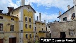 Піўны завод і палац Сапегаў у Горадні. Фота TUT.BY