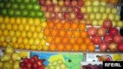 Treg frutash - foto nga arkivi.