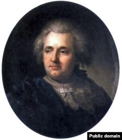 Юзаф Пешка. Партрэт Францішка Смуглевіча. 1790–1800