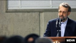 علی لاریجانی به کشورهای عرب نسبت به مداخله در پرونده هسته ای ایران هشدار داد. عکس از: خبرگزاری مهر