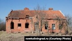 Дом Канта в Калининградской области. Фото Алексея Милованова