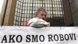 Strajkac u BiH, ilustrativna fotografija
