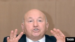 Moscow Mayor Yuri Luzhkov