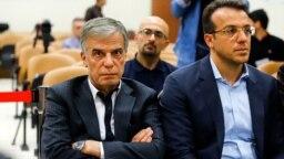 عباس ایروانی (نفر سمت چپ) یکی از ثروتمندان مشهور ایران که در حوزههای مذهبی و خیریه هم فعال بود، متهم به قاچاق قطعات خودرو شده است.