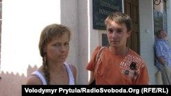 Активісти «Помсти» Катерина Чепура та Юрій Шивала, Сімферополь