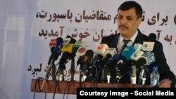 آرشیف/ عبدالرزاق وحیدی وزیر سابق مخابرات افغانستان