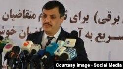 عبدالرزاق وحیدی وزیر مخابرات و تکنالوژی معلوماتی