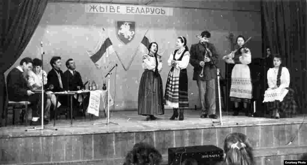 Канцэрт для Данчыка ў Менскай політэхнічнай гімназіі. 1993 год
