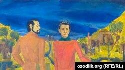Рассом Шуҳрат Абдурашидов чизган Абдулла Орипов портрети