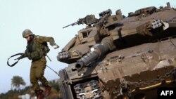عمليات ديروز ارتش اسرائيل در شمال نوار غزه (عکس از AFP)