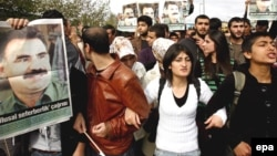 Türkiyədə Abdullah Öcalan-a dəstək aksiyası, 19 oktyabr 2008