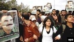 PKK tərəfdarlarının İstanbulda etirazı-2008