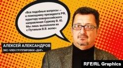 Колишній так званий глава апарату «народної ради ДНР» Олексій Александров