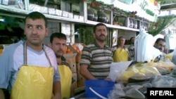 باعة عصير الزبيب في الموصل