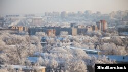 Магадан, вид города