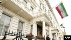 سفارت ايران در لندن روز شنبه در بيانيه ای آزادی فوزی بداوی نژاد را به شدت محکوم کرده است. عکس از: AFP