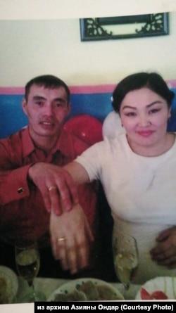 Кежик Ондар с женой