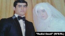 Аловиддин Саидов дар рӯзи арӯсиаш. 23 сентябри соли 2012
