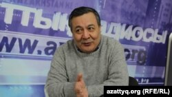 Политолог Дос Кошим. Алматы, 12 февраля 2015 года.