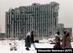 Грозный, Чечня, 1996 год