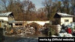 Нынешнее состояние летнего кинотеатра в парке имени Фучика. Фото пресс-службы мэрии.