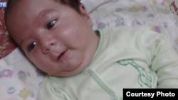 Умарали Назаров, таджикский младенец, скончавшийся в России. 19 октября 2015 года.