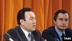 Нурсултан Назарбаев. Москва, 1981-жыл.